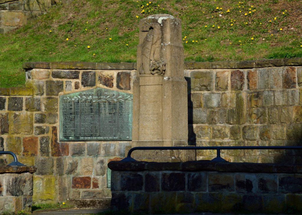 Bochum_Hiltrup_Kriegerdenkmal